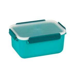 ClickClack Daily Food Storage Container 1900ml Teal