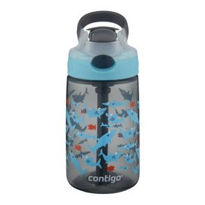 Contigo Kids Gizmo Flip Autospout Water Bottle 420ml Shark