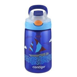 Contigo Kids Gizmo Flip AutoSpout Water Bottle 420ml Yacht