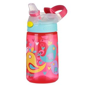 Contigo Kids Gizmo Flip AutoSpout Water Bottle 420ml Birds