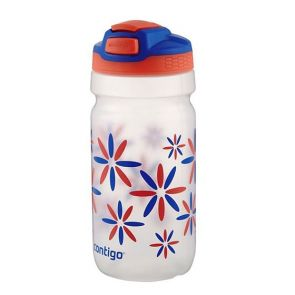 Contigo Kids Squeeze AutoSpout Water Bottle 532ml Tango Flower