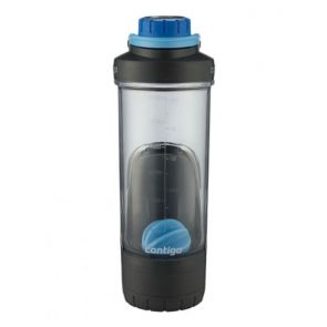 Contigo Shake and Go Fit w/ Storage 709ml Deep Blue