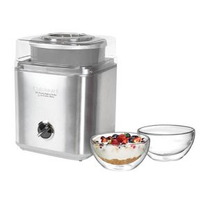 Cuisinart Ice Cream / Yoghurt Maker 2L Brushed Stainless