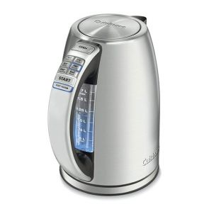 Cuisinart Programmable Kettle 1.7L Brushed Stainless