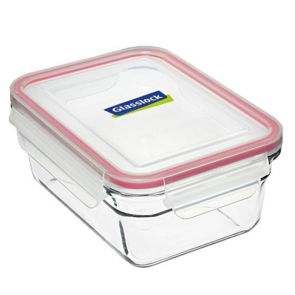 Glasslock Rectangular Tempered Glass Oven Safe Container 1.73L