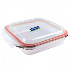 Glasslock Square Oven Safe Tempered Glass Baking Dish 2.1L