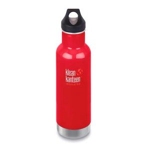 Klean Kanteen Insulated Classic Bottle with Loop Cap 592ml Mineral Red