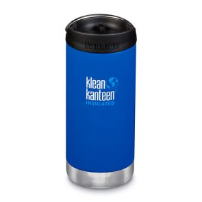 Klean Kanteen TKWide Insulated Bottle with Cafe Cap 355ml Deep Surf
