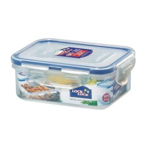 Lock & Lock Classics Rectangle Short Container 350ml HPL806