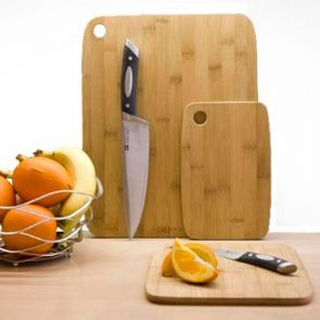 Scanpan 3 Piece Bamboo Cutting Board Set