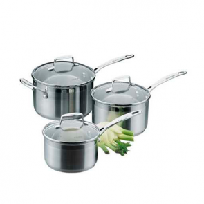 Scanpan Impact Saucepan Set 3 Piece