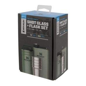 Stanley Adventure Steel Shot Glass and Flask Set
