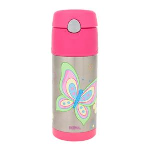 Thermos Funtainer Stainless Steel Vacuum Insulated Bottle 355ml Butterfly