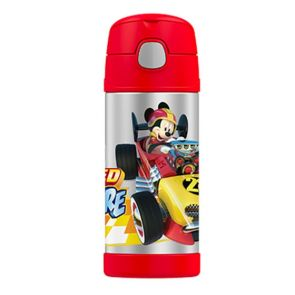 Thermos Funtainer Stainless Steel Vacuum Insulated Bottle 355ml Disney Mickey Mouse