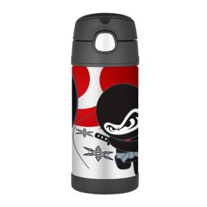 Thermos Funtainer Stainless Steel Vacuum Insulated Bottle 355ml Ninja