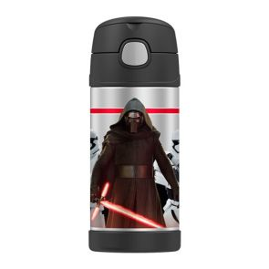 Thermos Funtainer Stainless Steel Vacuum Insulated Bottle 355ml Star Wars Kylo Ren