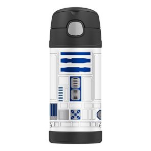 Thermos Funtainer Stainless Steel Vacuum Insulated Bottle 355ml Star Wars R2D2