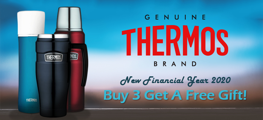 Thermos Promotion - Buy 3 Get A Free Gift